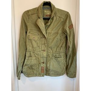 *** Army Green Jacket From Anthropologie ***